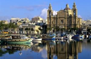 Malta Boats & Church