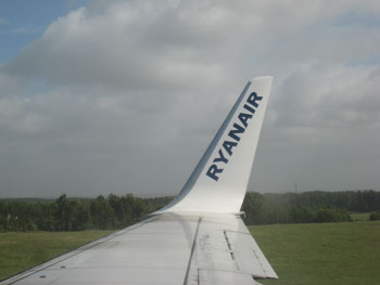 Ryanair Flying out of Ireland