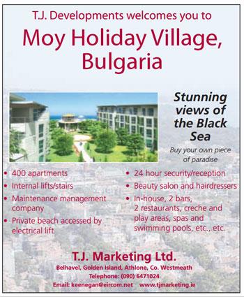 TJ Developments, Moy Holiday Village, Kavarna