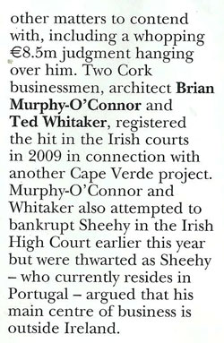 Tom Sheehy - Phoenix Magazine - Nov 2nd, 2012