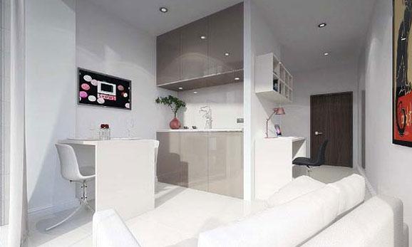 UK Student Accommodation Interior
