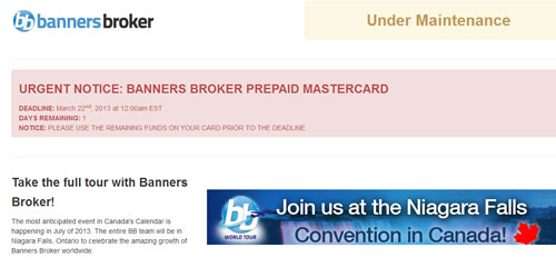 Banners Broker Mastercard