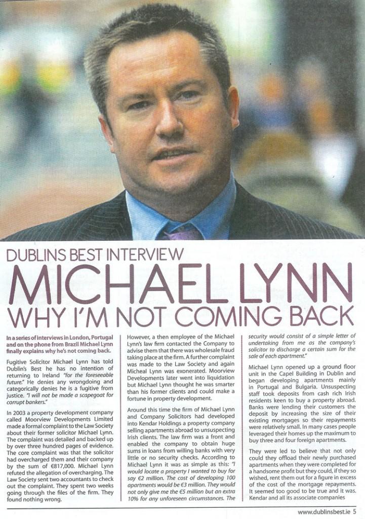 Michael Lynn Interview