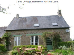 3 Bed Cottage in Normandy for Sale