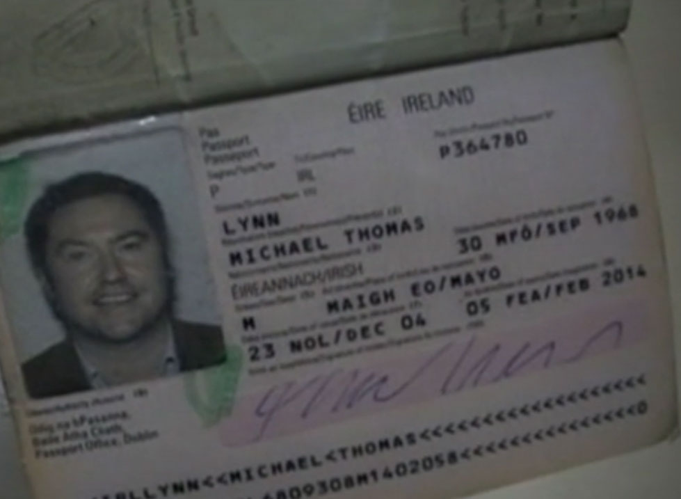 Michael Lynn Passport