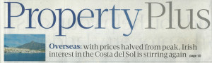 Sunday Business Post Marbella Property Feature