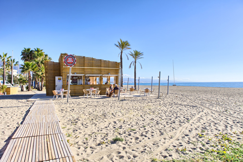 Playa Rocio Beach, Marbella