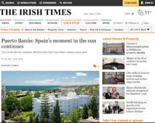 Irish Times Marbella Feature