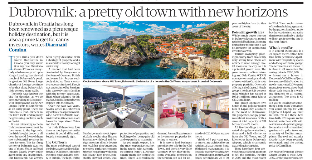 Dubrovnik Sunday Business Post