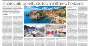 Dubrovnik Feature in Sunday Business Post