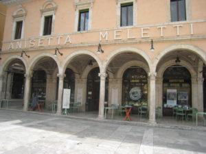 Caffe Meletti, Ascoli Piceno, Marche, Italy