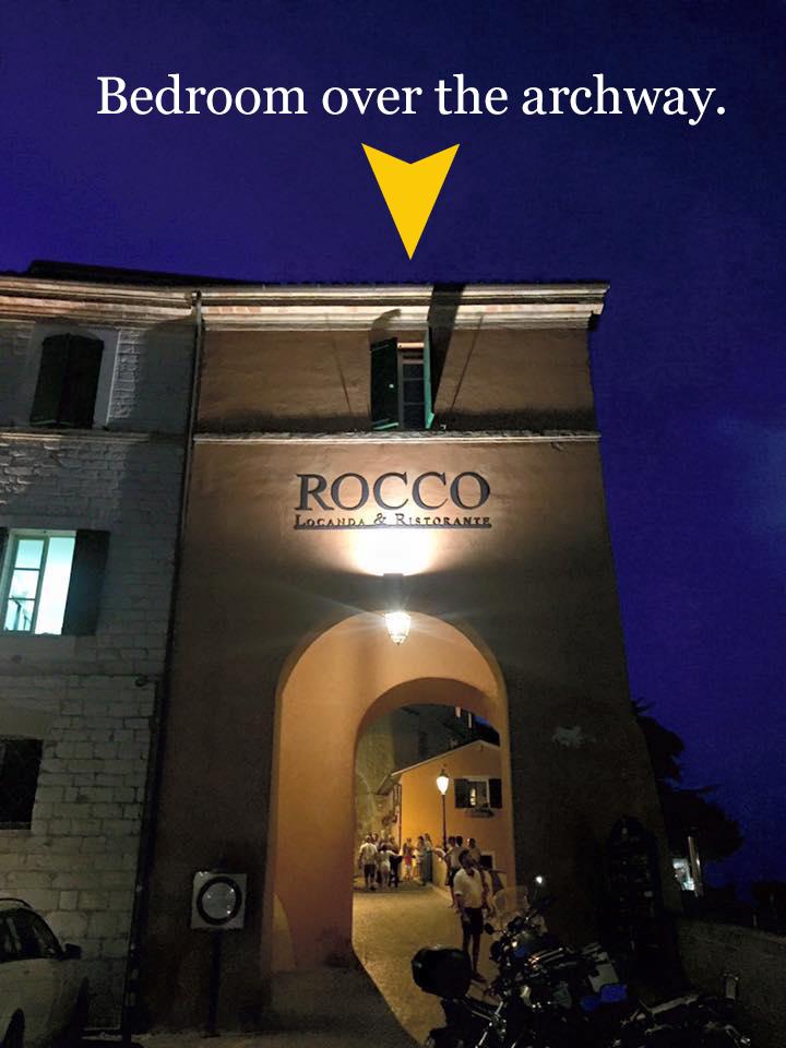Hotel Rocco Archway Bedroom
